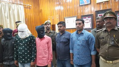 Photo of वाहन चोर गैंग के तीन सदस्य गिरफ्तार, चोरी के16 वाहन बरामद