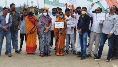 Photo of विधायक के नेतृत्व में राजधानी से बिलासपुर रोड चक्का जाम कर विधायक ने कहा